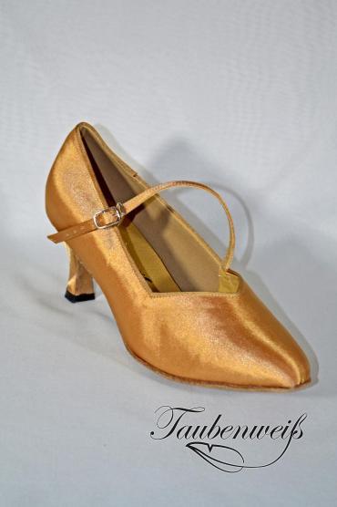 Standardschuh TW0001ST - Standardschuh TW0001ST Damen Standard Tanzschuh Pumps Tango elegant Satin Ristriemchen 1