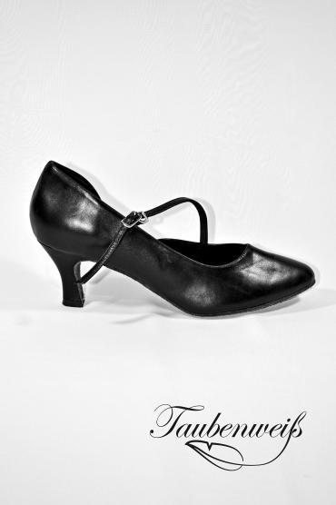 Standardschuh TW0005ST - Damen Tanzschuh Tango elegant Echtleder zeitlos Ristriemchen 1